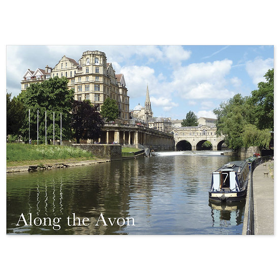 Avon, Along - Sold in pack (100 postcards)