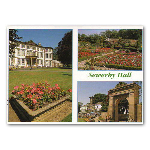 Bridlington Sewerby Hall - Sold in pack (100 postcards)