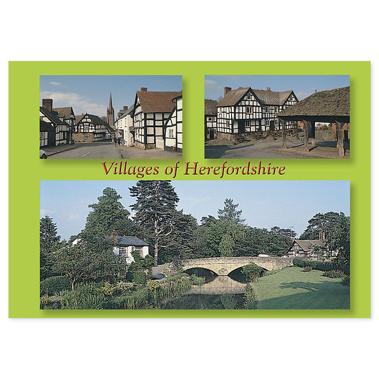 Herefordshire Villages - Sold in pack (100 postcards)