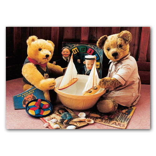 Teddy Bears Yachts - Sold in pack (100 postcards)