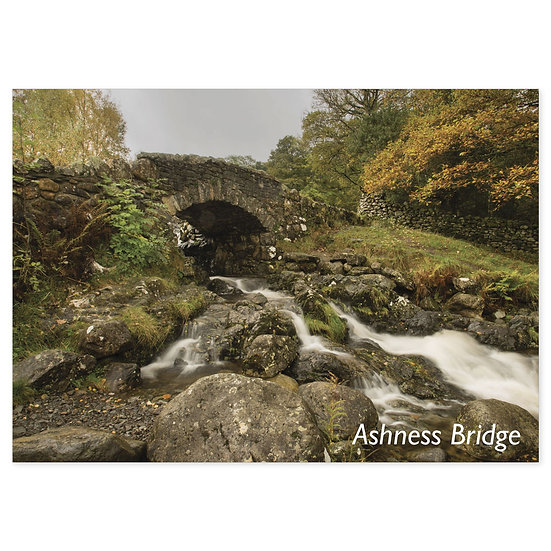 Ashness Bridge - Sold in pack (100 postcards)