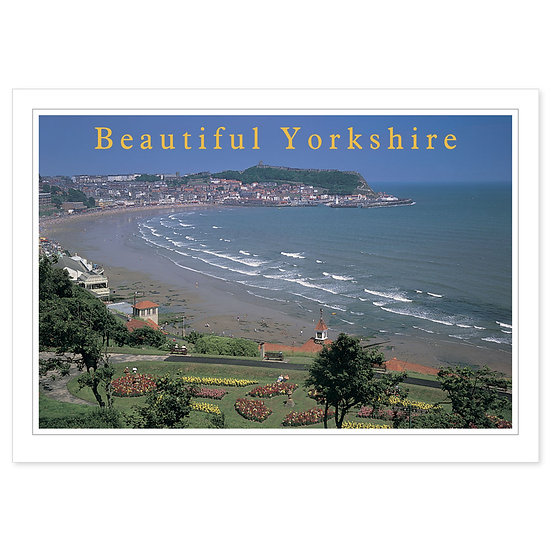 Scarborough Yorkshire Beautiful - Sold in pack (100 postcards)