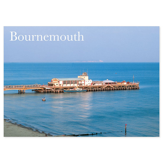 Bournemouth Pier - Sold in pack (100 postcards)