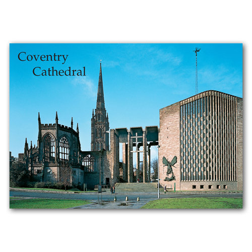 Coventry Cathedral - Sold in pack (100 postcards)