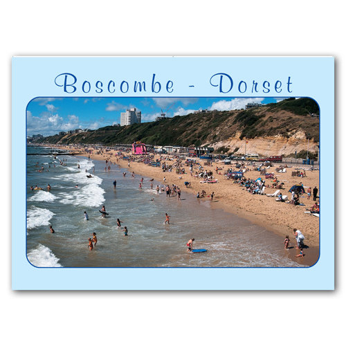 Boscombe Dorset - Sold in pack (100 postcards)