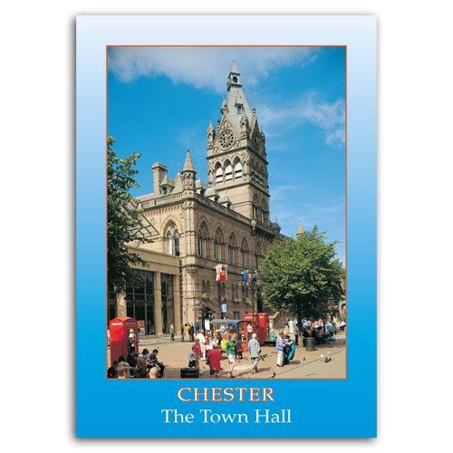 Chester The Town Hall - Sold in pack (100 postcards)