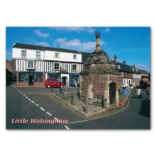 Walsingham Common Place - Sold in pack (100 postcards)