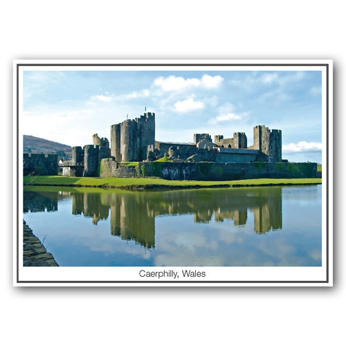 Caerphilly - Sold in pack (100 postcards)