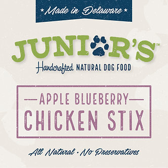 Apple Blueberry Chicken Stix