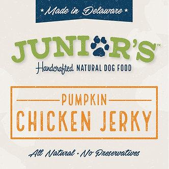 Pumpkin Chicken Jerky