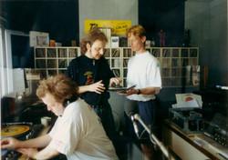 Radio 6, early 90s