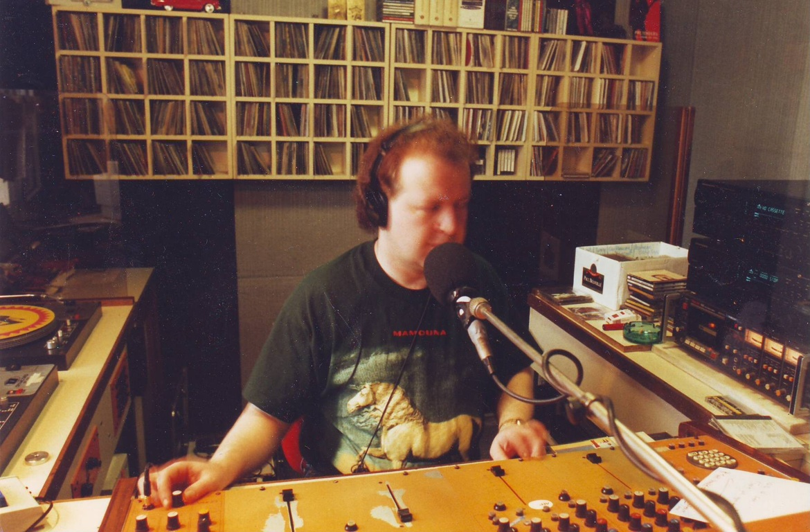 JR at Radio 6, 1994