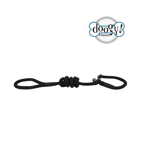 Laisse lasso corde nylon noire