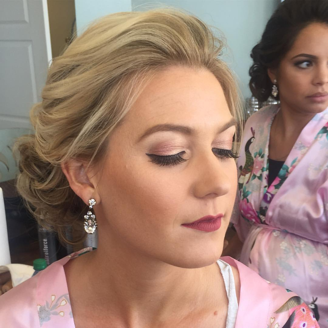 Bridesmaids Airbrush Makeup