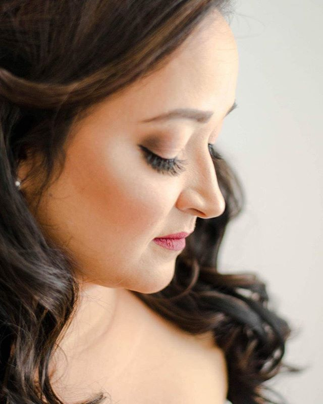 Soft bridal look for my bride!!! Love my job 🎀 #tampamakeup #tampamakeupartist #tampamua #makeupbyp