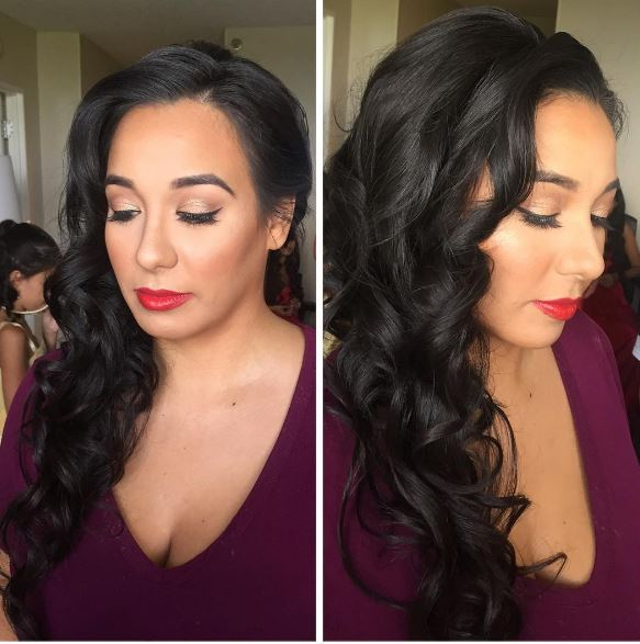 Bridesmaid Glam