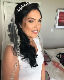 Beautiful bridal hair and makeup trial!!
