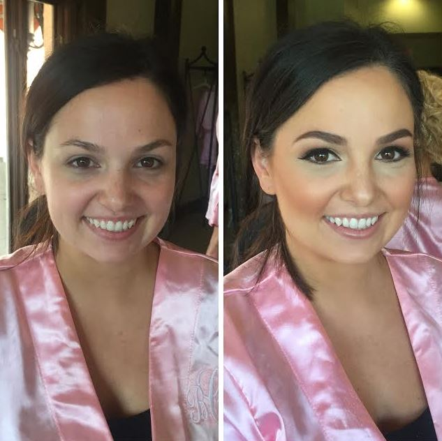 Bridesmaid Airbrush- Light Glam