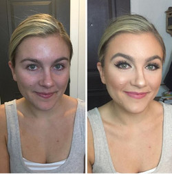 Bridal Trial Before and After
