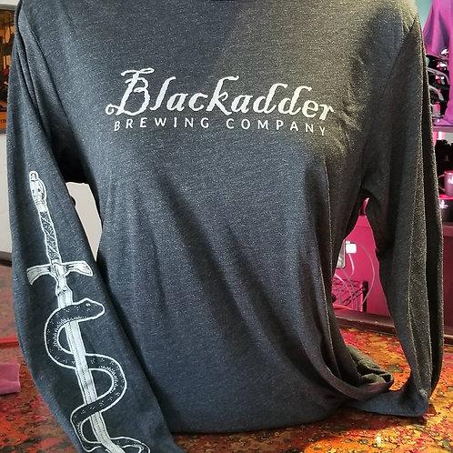 Blackadder Long Sleeved Shirt (Heather Black)