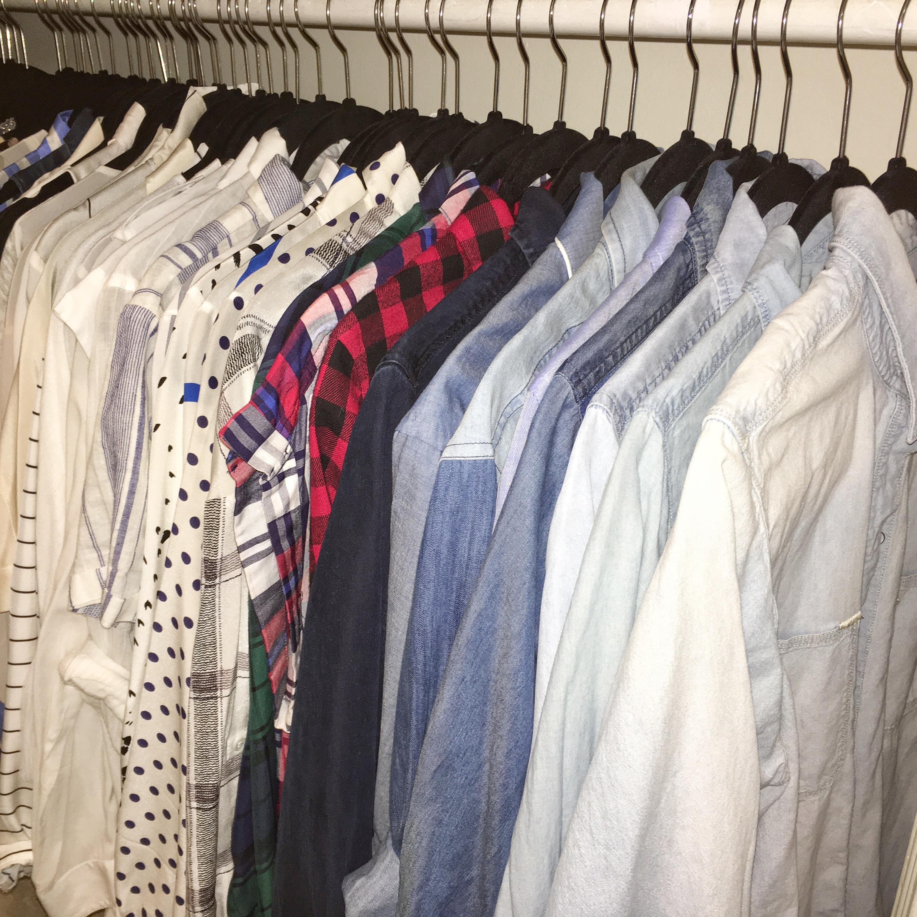 #denimfordays - organized closet