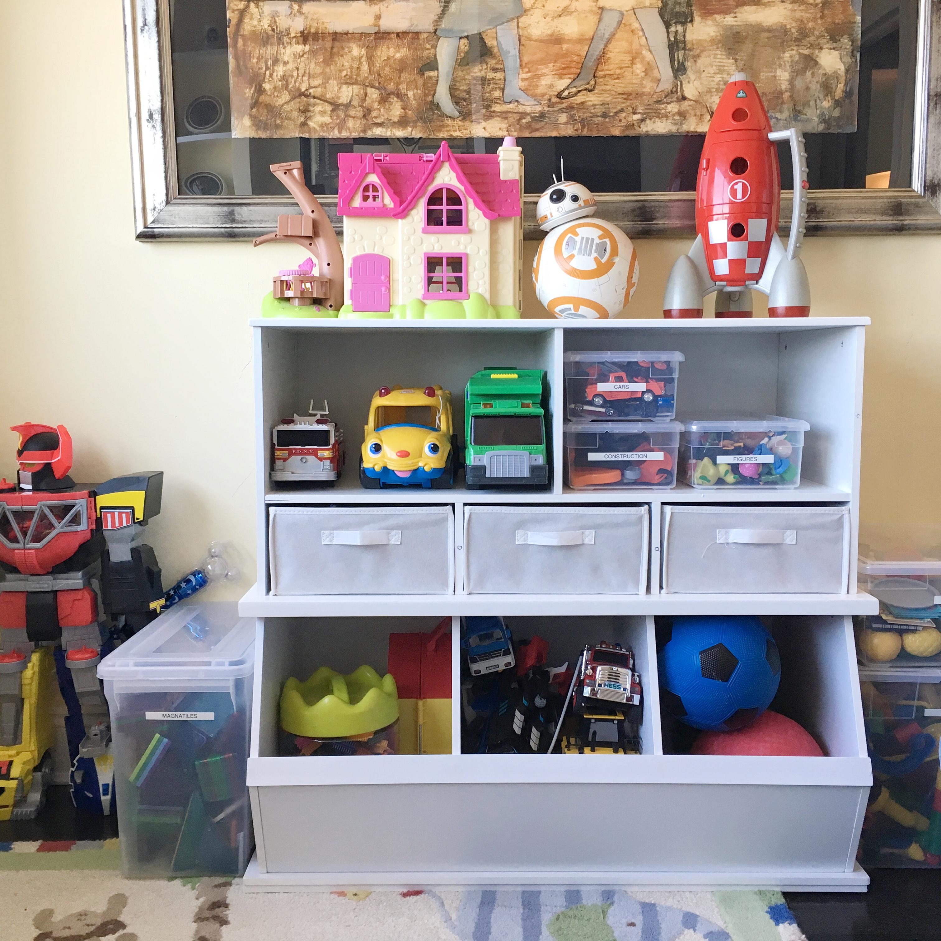 organized playroom