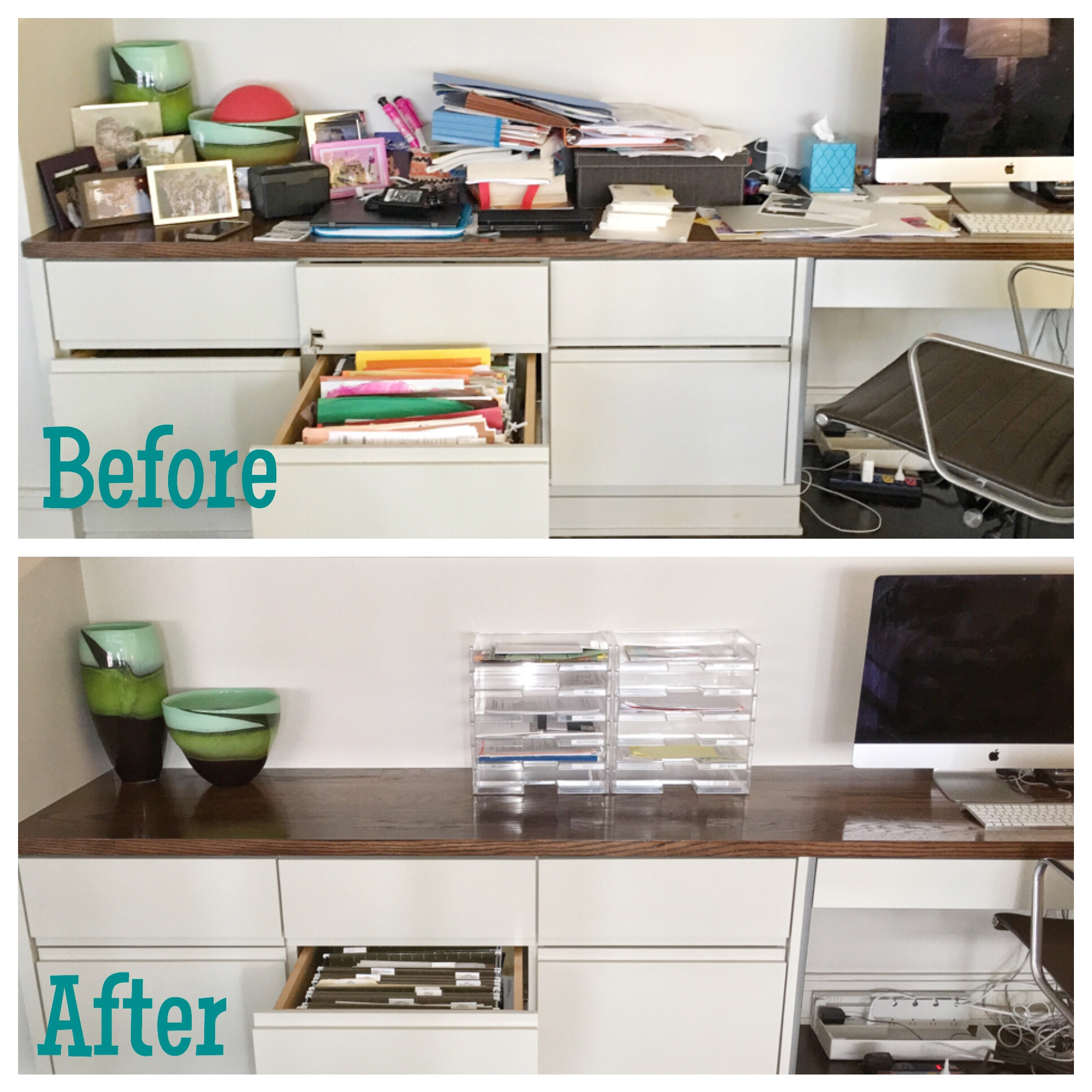office: before & after