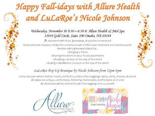 Fall-iday Event including LuLaRoe