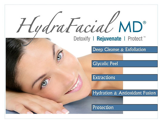 6 HydraFacials
