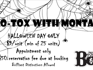 Boo-Tox with Montana