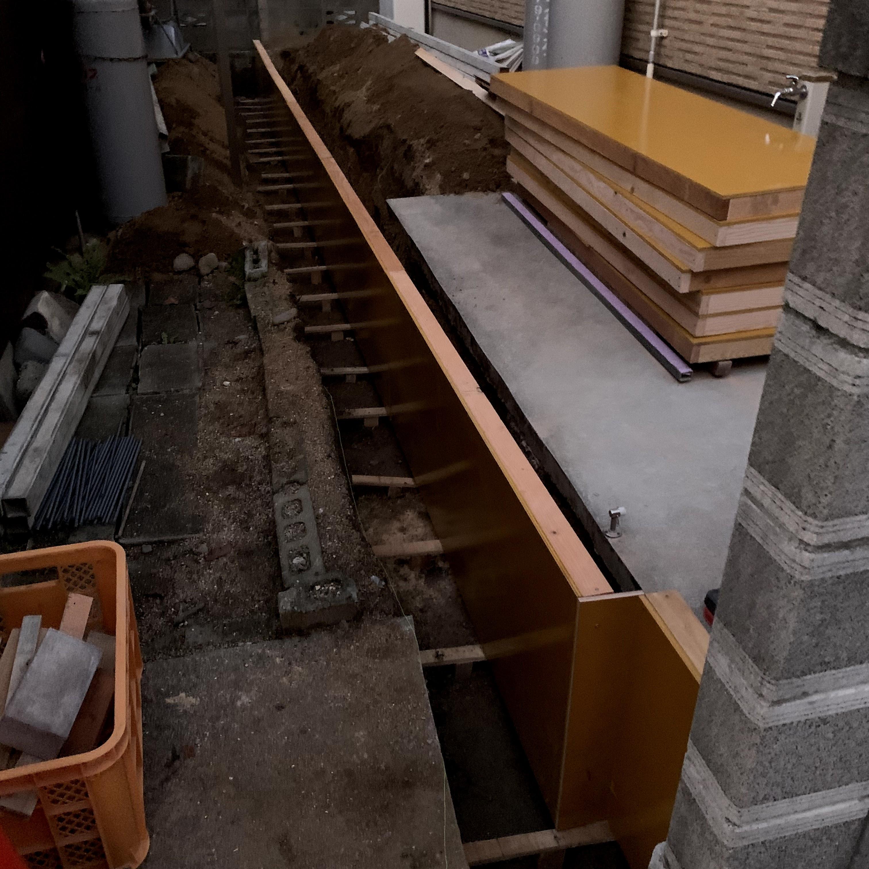 Thumbnail: 基礎/コンクリート擁壁[1mあたり]