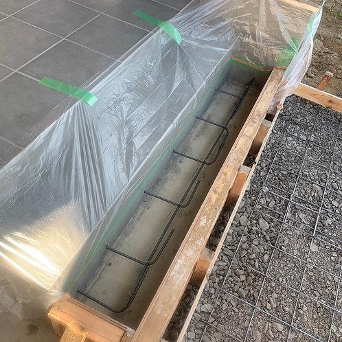 玄関ポーチ増設タイル張り[床面積1m2あたり]