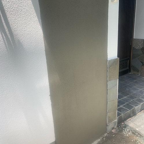 (左官工事)モルタル壁塗り(~10m2)