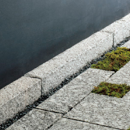 自然石 縁石(120×150×600)[1mあたり]