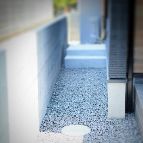 砂利敷き(5cm厚/すき取り残土処分込)[1m2あたり]