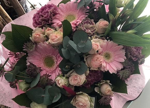 Bouquet rose pâle 2