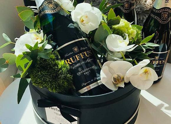 "Boite fleurie ""Ruffus"" (grand format)"