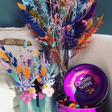 Bouquet quality street fleurs séchées