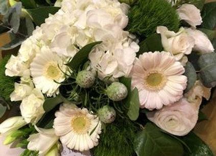 Bouquet hiver blanc