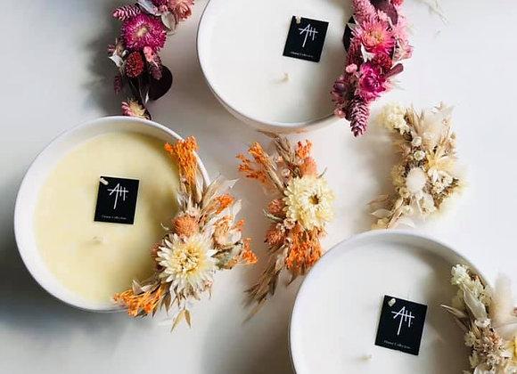 Bougie parfumée bol cocooning d14 h6