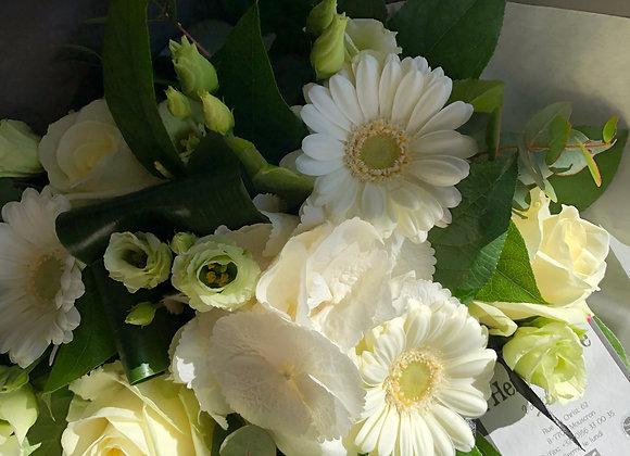Bouquet blanc serré 3