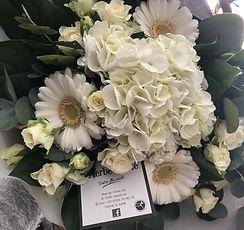 Funérailles bouquet de condoléances et de sympathie