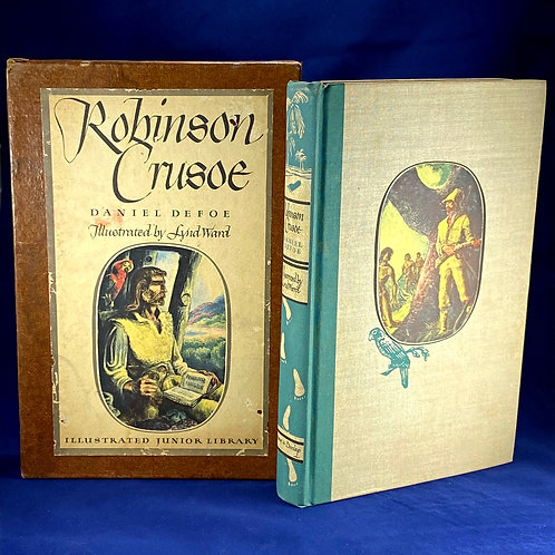 The Life and Strange Surprising Adventures of Robinson Crusoe