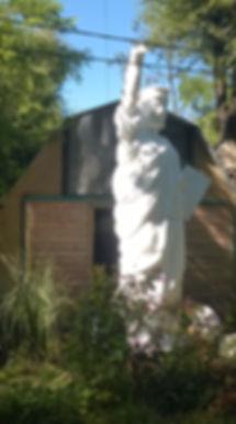 estatua, libertad, monumentos, replicas, arte, escultor, argentina, resina, madera, hormigon, estatua de la libertad