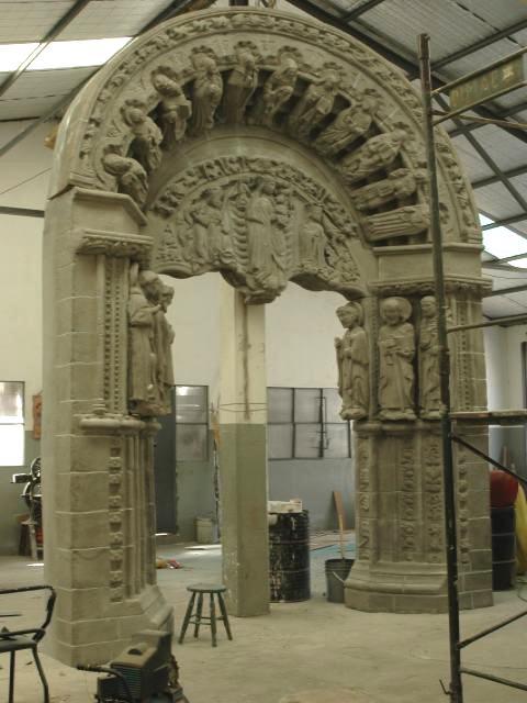 Réplica portal de Compostela