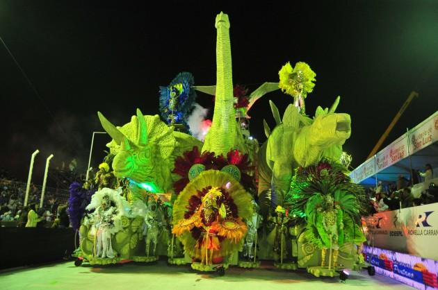 Carnaval de Rio en San Luis