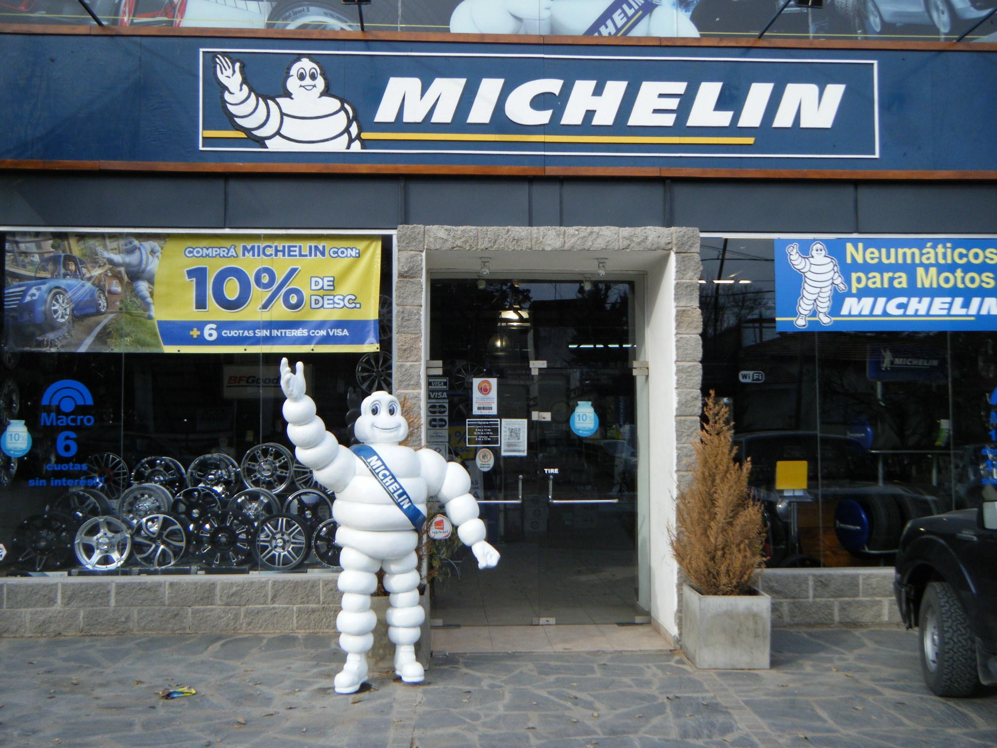 Bibendum el logo de Michelin