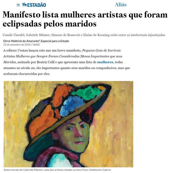 Crítica no jornal Estadão