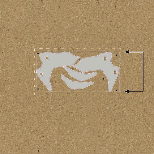 Kit de protection transparent pour deflecteur R 1250 Gs