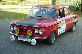 NSU 1200 TT ASA Mont des Princes